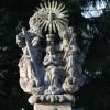 Socha Nanebevzetí od S. Suchardy - kopie svatozáře