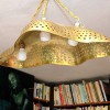 Lampa - Améba - mosaz